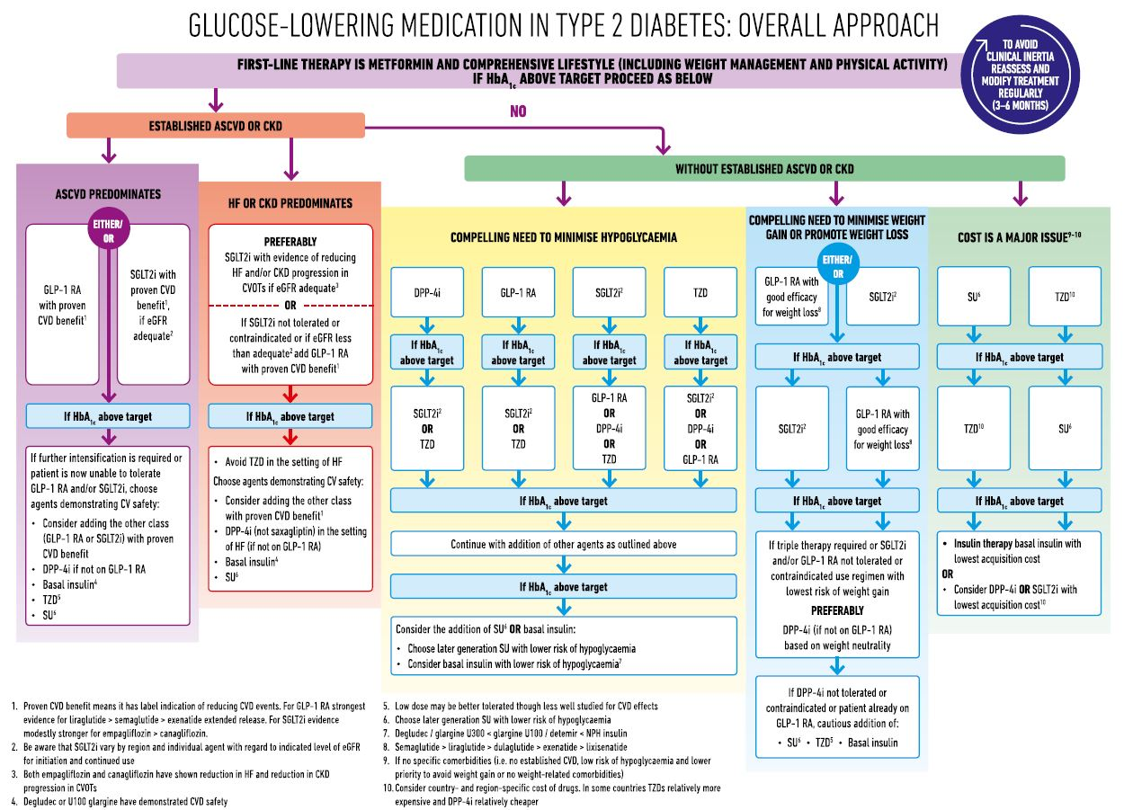 New Easd Ada Consensus Guidelines On Managing Hyperglycaemia In Type
