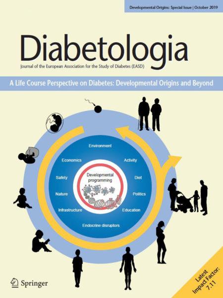 Cover of Developmental Origins issue