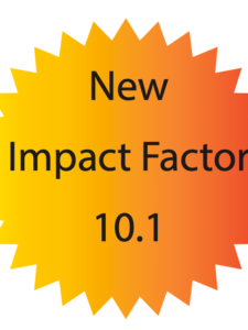 new impact factor: 10.1
